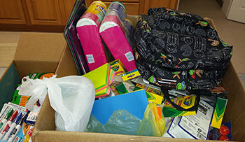 LUtheran churches of south washington county, school supply dirve, needy kids